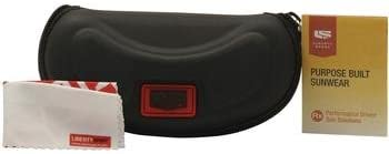 Liberty Sport Youth Boys MX30 MX-30 4 Shiny Black Sport Strap Sunglasses 55mm