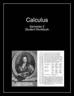Calculus Semester 2 (Student Workbook)