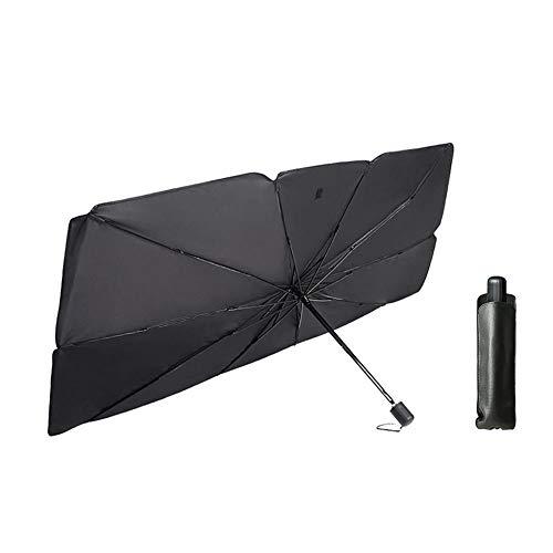 Pieghevole Ombrello parasole per Finestrino Anteriore Auto Auto Parasole Ombrello Protezione dai Raggi UV Ombrello per Auto Parabrezza Universale Gigante Parasole per Parabrezza per Auto Camion