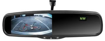 Rydeen 4.3'' Mirror and Back Up Camera Combo MV431T and Camera by Rydeen