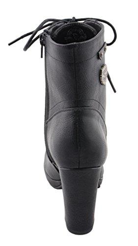 Stiefeletten Schwarz M Milwaukee Damen 11 US 11 Stiefel MBL9418 amp; BLACK Schwarz B 0TPqYw0