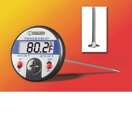 Silver Oxide Thermometer