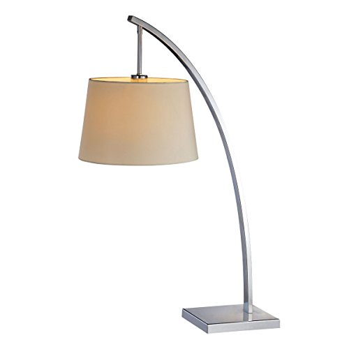 - Bromi Design B1302 Bennett White 1 Light Table Lamp
