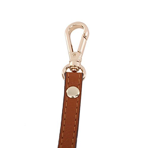 Replacement Hardware Brown Purse for Adjustable Leather Handbags Crossbody Gallery slide Straps Straps Shoulder gold Adjustable Lam wqIOPF