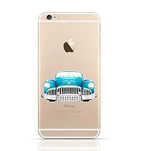 Iphone 6/6 S Transparent TPU Silicone Case with Car Design