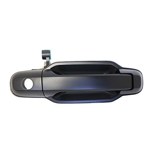 Titanium Plus Autoparts, 2003-2009 Fits For Kia Sorento Front,Right Passenger Side DOOR OUTER HANDLE PRIME BLACK EX MODEL