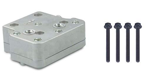 Robur Bremse for Cummins ISX Engine Air Brake Compressor Cylinder Head Type 9111539212