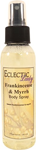 Frankincense And Myrrh Body Spray by Eclectic Lady