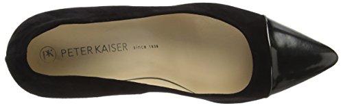 Peter Zapatos Azul de Cuero para Mujer Kaiser r5SqWr