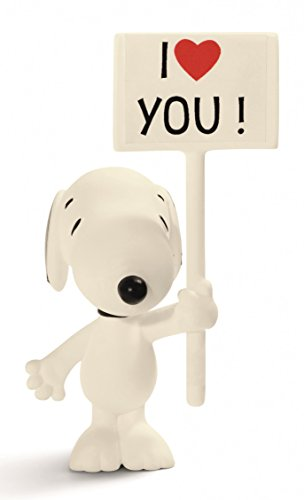 Schleich Peanuts I Love You! Snoopy Figure