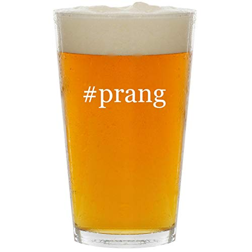 #prang - Glass Hashtag 16oz Beer Pint