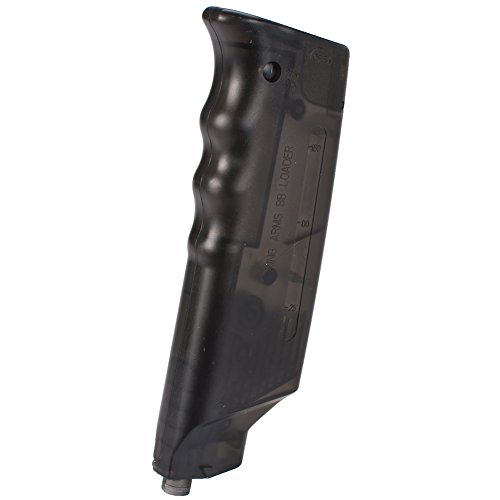 - Evike Competition Grade 200 Rounds Airsoft BB Speed Loader by King Arms Mag - Black - (27916)