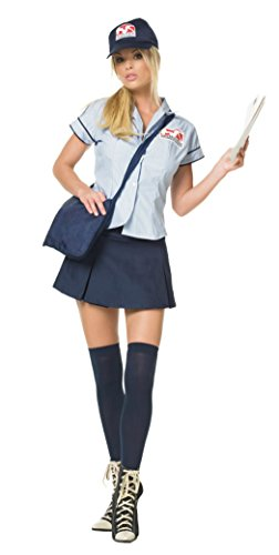 Mail Delivery Girl Adult Costume - Large