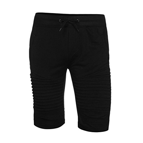 78b63e3f88 Goodtrade8® Men Sweatpants Casual Shorts Mid Waist Workout Fashion Sport  Pants Fitness Trouser