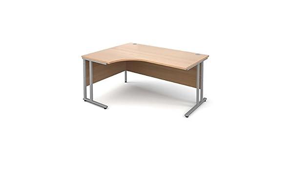 Mano izquierda esquina escritorio ergonómico 1600 mm – Color ...