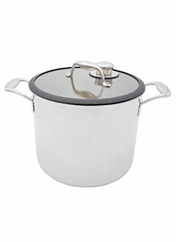 Tuxton Home THBCZ3-SS9-G Chef Series Sous Vide Pot Specialty Stockpot, 9.8 quart, Stainless steel by Tuxton Home (Image #2)