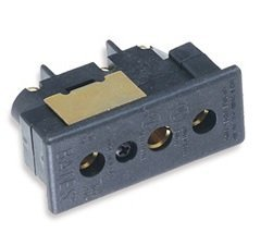 Marinco Power Products 20FR Bates Stage Pin (20A/ 125V) Female Panel Mount ()