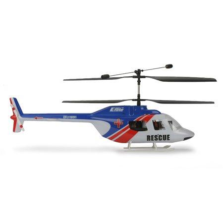 E-Flite JetRanger Body Set, Blue/Red: Blade CX/2/3