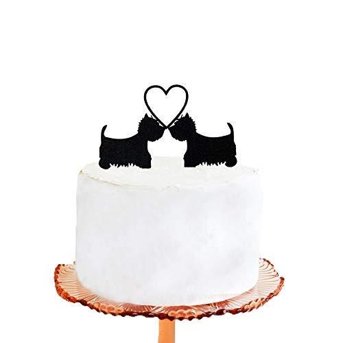 RubyPound Wedding Cake Topper Halloween Wedding Cake Topper Devil Silhouette Wedding Cake Topper
