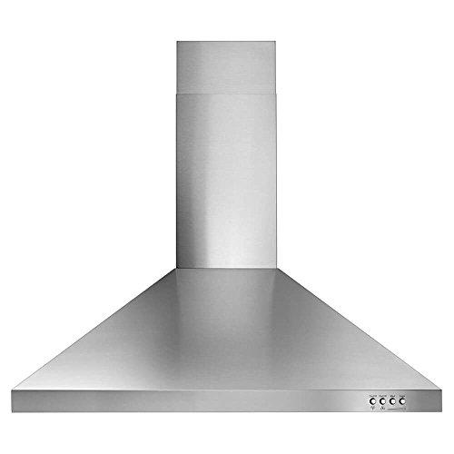 Whirlpool WVW53UC0FS WVW53UC0FS 30 Contemporary Stainless Steel Wall Mount Range Hood