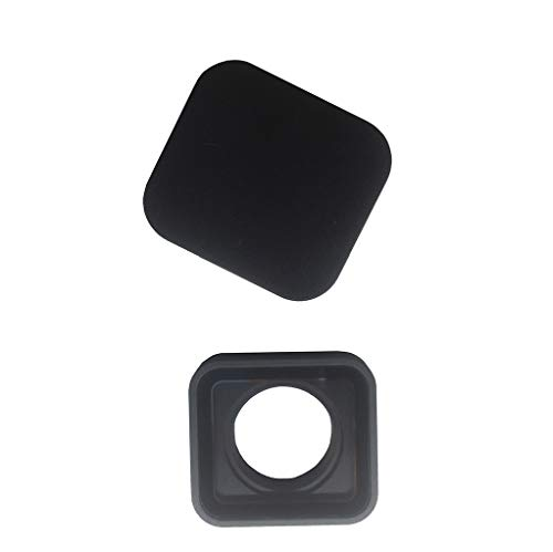Protective Camera Lens Cover Glass Replacement Part for GoPro Hero 5/6 Black, with 1 Lens Cap