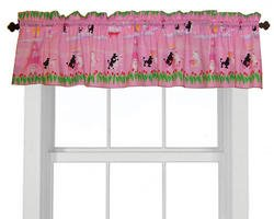 Room Magic Window Valance, Poodles In Paris
