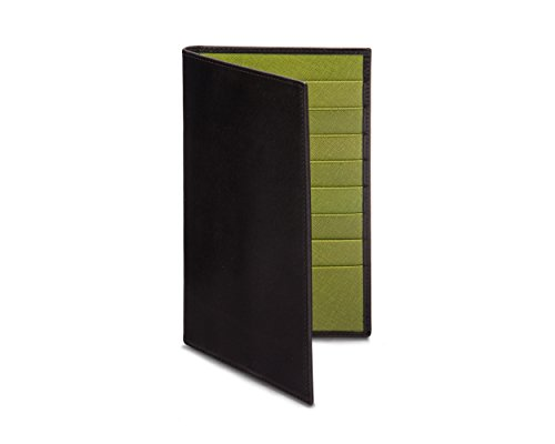 Suit Slim Black Lime Wallet With SAGEBROWN SAGEBROWN Ultra Ultra YqtIwB