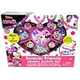 Minnie Mouse Disney Junior Forever Friends Jewelry Box Kit Activity Play Set Gift from Minnie Mouse