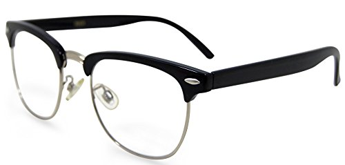 In Style Eyes Sellecks Designer Reading Glasses for Both Men & Women/Black/4.00