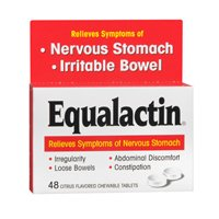 Equalactin Chewable Tablets 48 Tablets (Pack of 4) by Equalactin