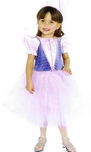 Infant 12 Months - Lovely Princess Gown - Great for Wedding Flower Girl and Pretty Princess Too! (Renaissance Skirt & Hat)