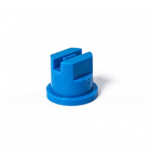 Poly Fan Spray - Tefen Blue Nozzles 110 Degree Standard Flat Fan Spray Tip 10 Pack