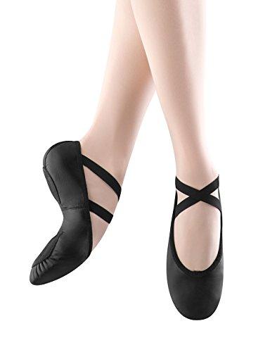 Leather Prolite Sole II Shoe Slipper Black Ballet Women's Bloch Split Dance xqBAYHA