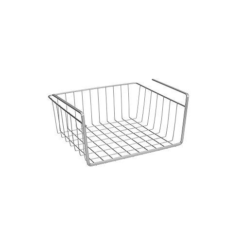 Metaltex - Estante intermedio, Gris metalizado, 30 cm