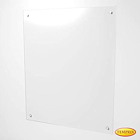 Wandschutz fü r Kamin & Ofen | Funkenschutz aus Glas | Glas wand als Hitzeschutz & Mö belschutz | Varberg Temprix
