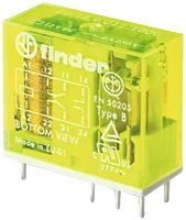 FINDER 50.12.9.024.5000 RELAY, SAFETY, 24VDC, 15A, (Ac Current Sensing Coil)