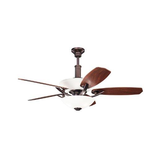 5 Blade 56' Blade (Kichler 300126OBB 56`` Ceiling Fan)