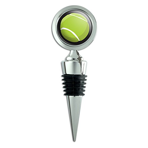 Tennis Ball Realistic Wine Bottle Stopper -