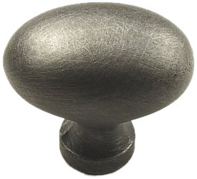 Century Hardware Plymouth (Century Hardware 13117-WP Plymouth Solid Brass Knob, Pewter)