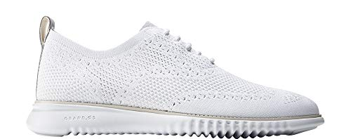 Cole Haan Men's 2.0 Zerogrand Stitchlite Oxford, Optic White, 11.5 Medium US