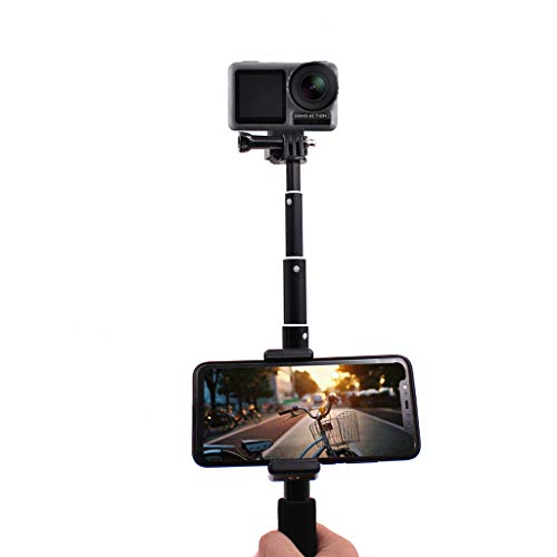 Sodoop Tripod Mount,Multifunction Simple Portable Stand, Adjustable Mobile Phone Holder Compatible for DJI OSMO Action ()