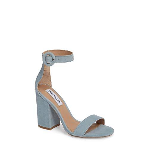 Steve Madden Women's Friday Sandal, Blue, 6.5 M ()