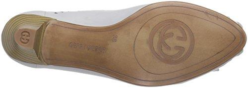 para Kitty cuero blanco Shoes 002 de Gerry de Weiß Zapatos Weber 01 offwhite vestir mujer qHwnSxZzE