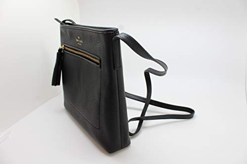 b9b0b9ec37f933 Amazon.com: Kate Spade New York Chester Street Dessi Pebbled Leather  Shoulder/Crossbody Bag (Black): Shoes