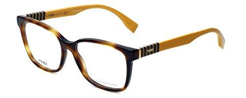 FENDI Eyeglasses 0055 07Ta Havana Rose Gold 54MM