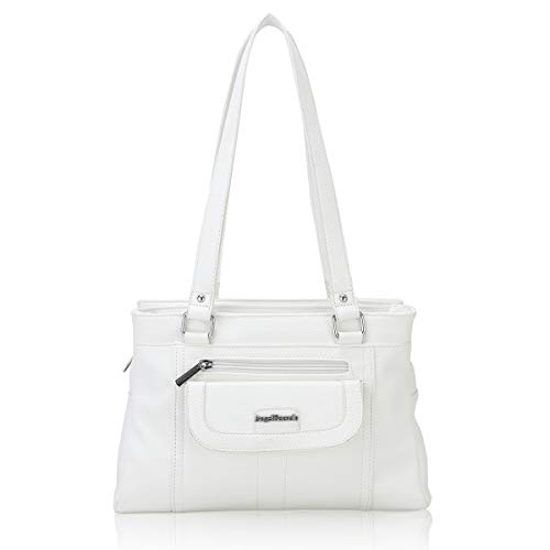 White Hobo Handbags - 7