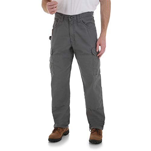 Wrangler Riggs Workwear Men's Ranger Pant,Slate,40x32 (Best Work Pants For Plumbers)