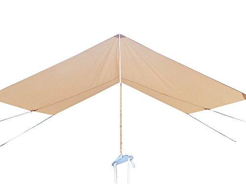 Safari Camping Outdoor Vier Saison Familie nurlaubsort Camping Wasserdicht Luxus Bell Zelt Oder Zelt Zubehör