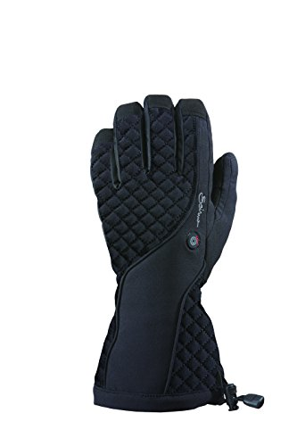 Seirus Innovation Women's Heat Touch Glow Weather Winter Polartec Gloves, Black, Large by Seirus Innovation
