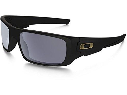 Oakley SI Crankshaft Force Recon SUNGLASSES MATTE BLACK FRAME GREY - Oakley Gascan Matte Black